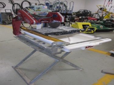 Tile Saw W/Stand